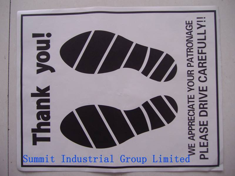 Car Paper Foot Mat Summit Industrial Group Limited Ecplazanet
