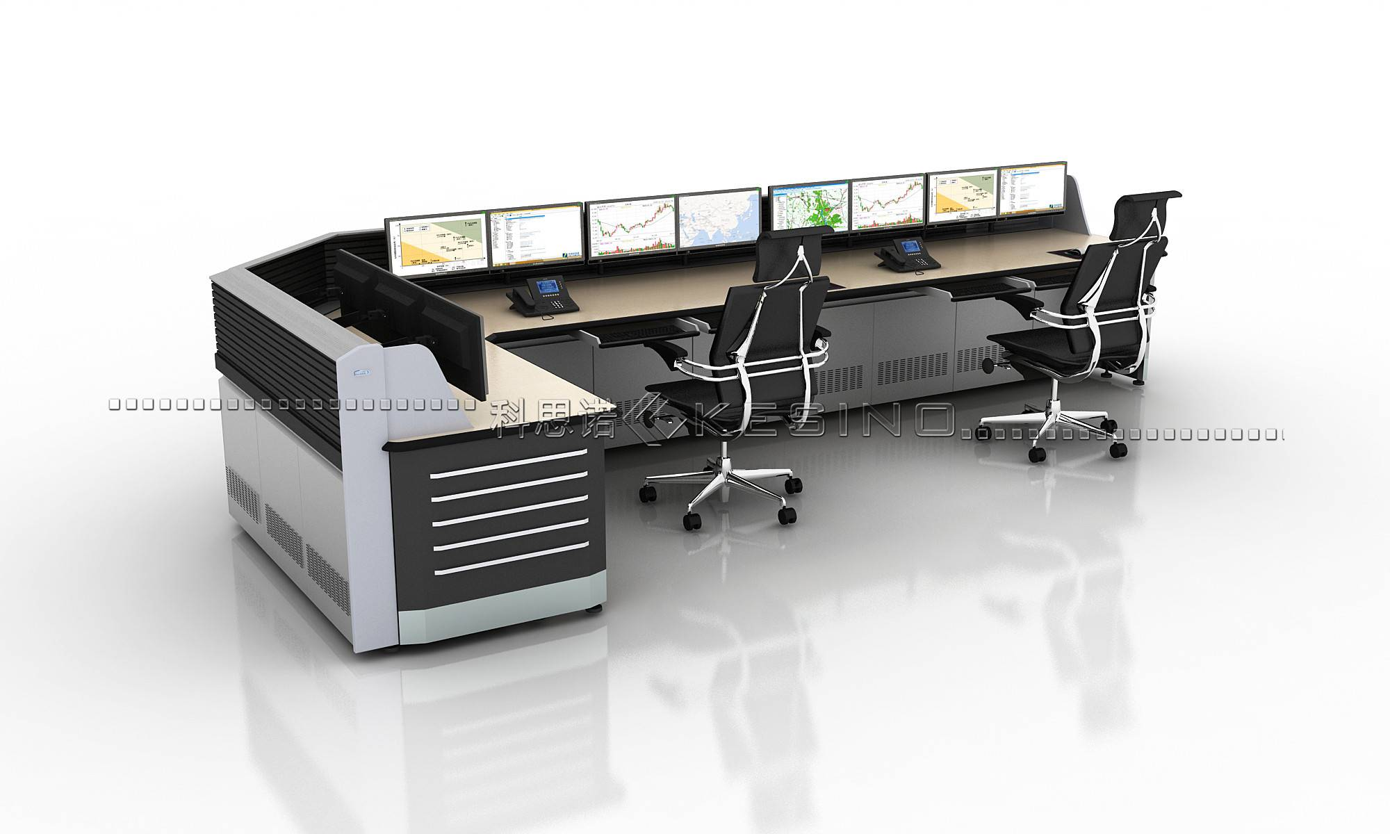 ISO Certified computer console ,office Furniture