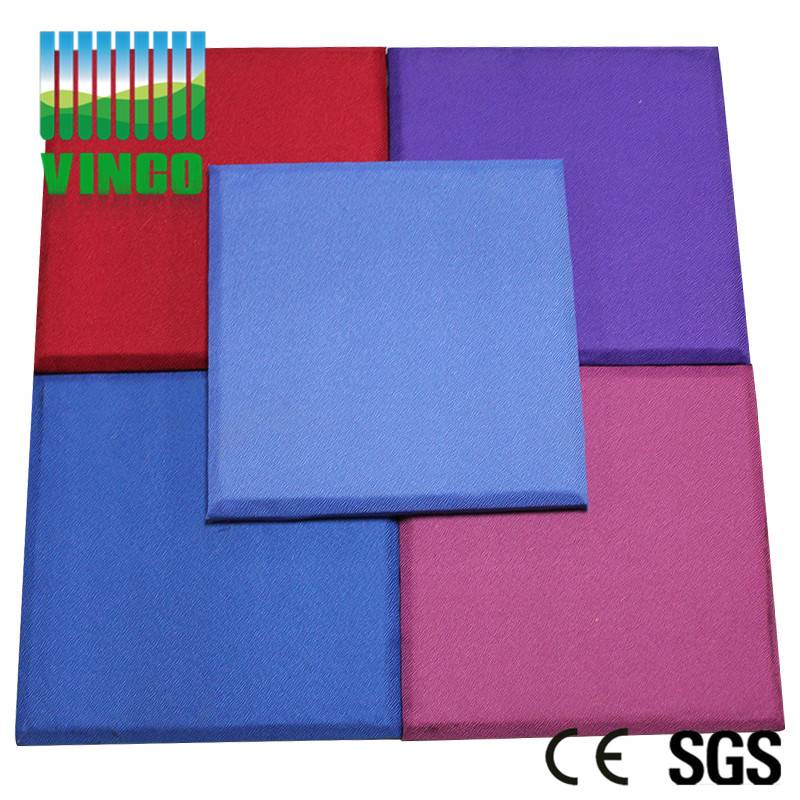 supply fabric /leather accoustic panel,3D polyester acoustic panel interior wall ,ceiling