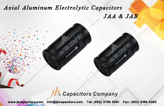 JAB - 2000H at 85°C, Axial Aluminum Electrolytic Capacitor