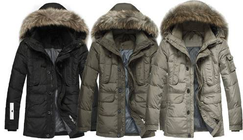 Mens Men Fashion Winter Hooded High Quality Padding Jacket