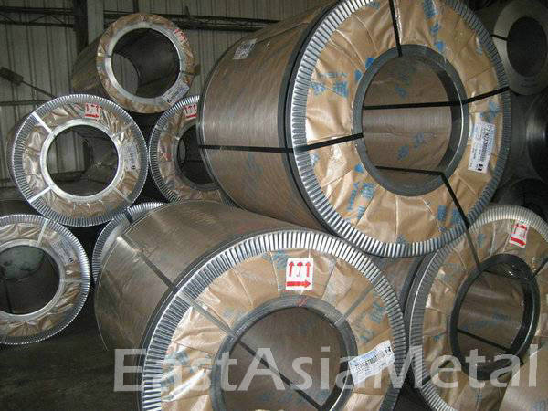 5.5mm thickness Hot Rolled 201 303 304 stainless steel coil strip factory in stock for sale