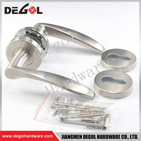 Cheap stainless steel solid lever door handles australia