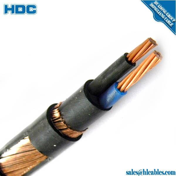Copper Conductor Concentric Cable With PVC Insulated/Sheath