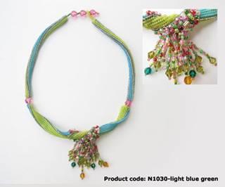 Two-tone Twist Necklace
