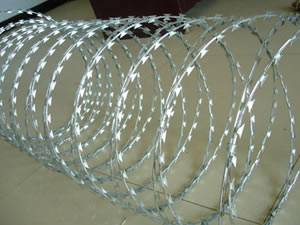 razor barbed wire mesh with competitive price