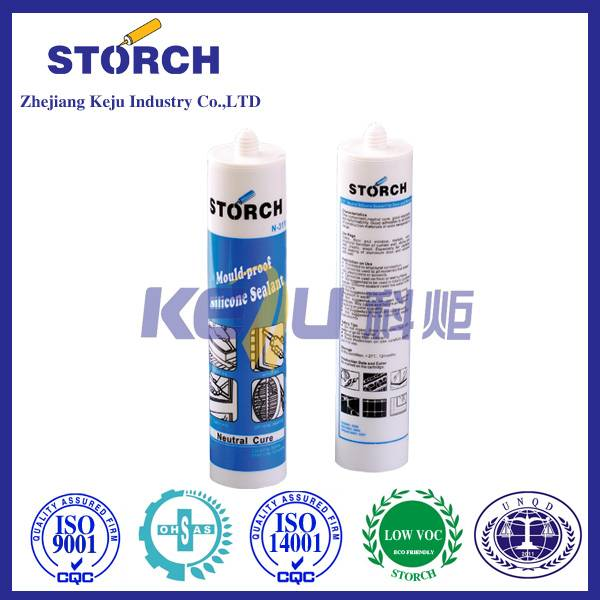 General Purpose Anti-fungus Kitchen and Bath Silicone Sealant