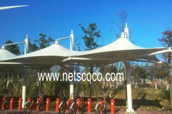 Netscoco PVDF Architectural Fabric PVDF Fabric PVDF Membrane