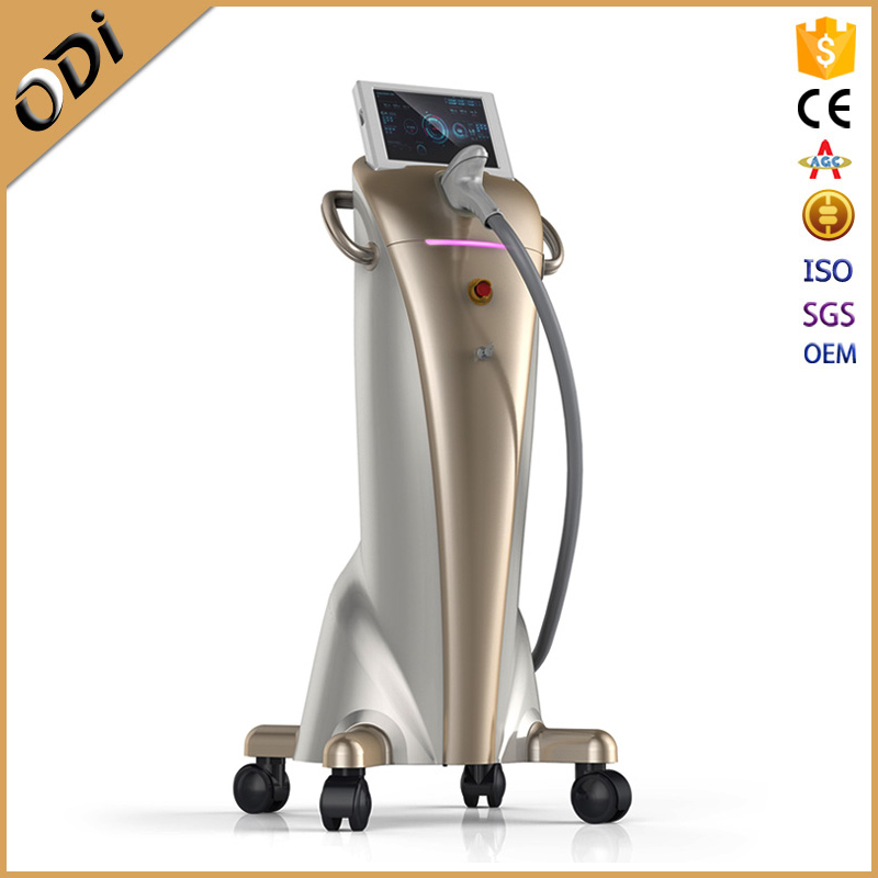 Painless Permanent 808nm Diode Laser Hair Removal Machine