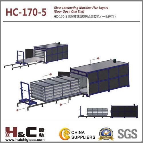 HC-170-5 Glass laminating machine Five layers