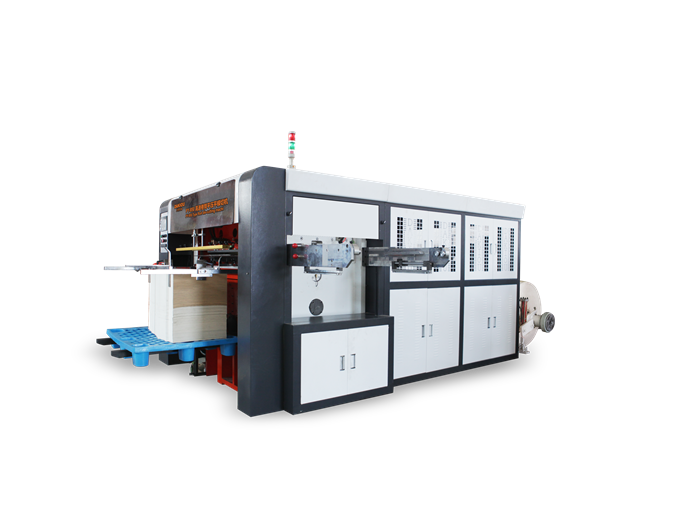 PYseries roll die cutting and creasing machine