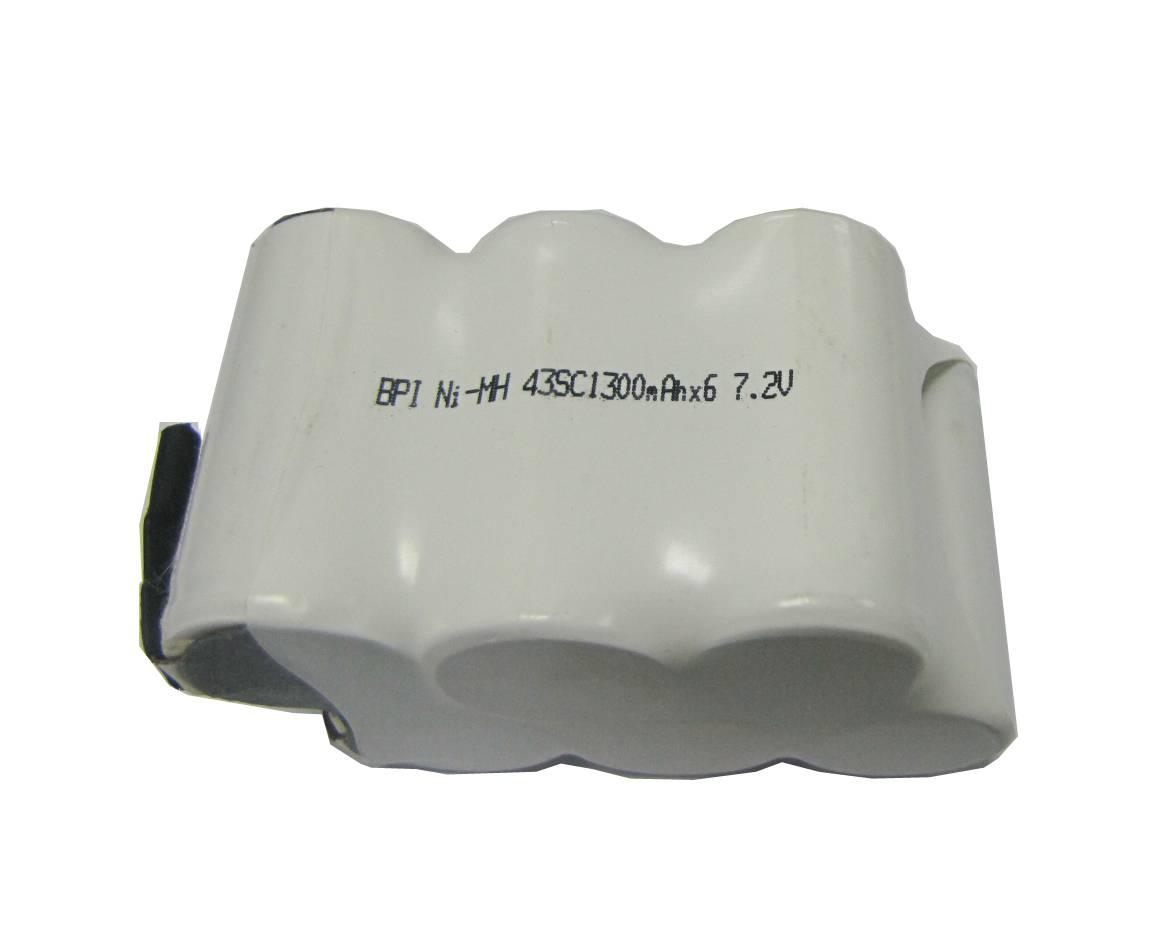 7.2V SC1300*6 Nimh battery pack