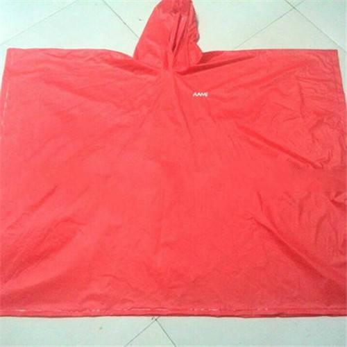 Plastic PVC Rain Poncho
