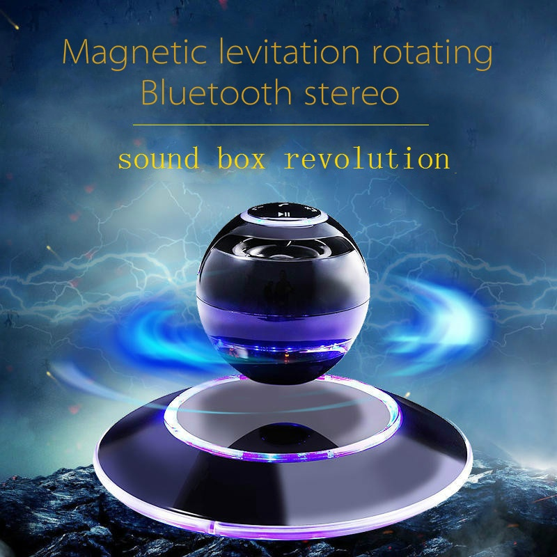 New Arrival Levitating Wireless Floating Magnetic Portable Bluetooth Speaker