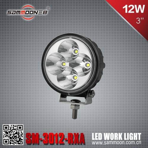 3 Inch 12W LED Work Light