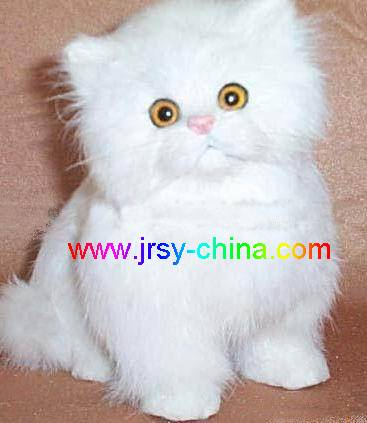 synthetic fur animal model toys