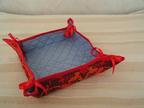 Christmas Bread Basket, Fruit Basket