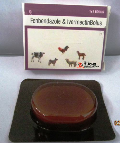 Veterinary Fenbendazole With Ivermectin Bolus