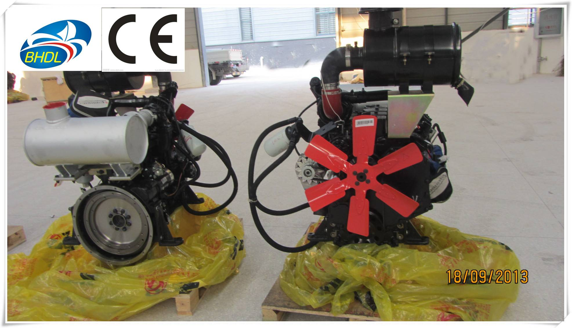 Gas engine for natural gas generator