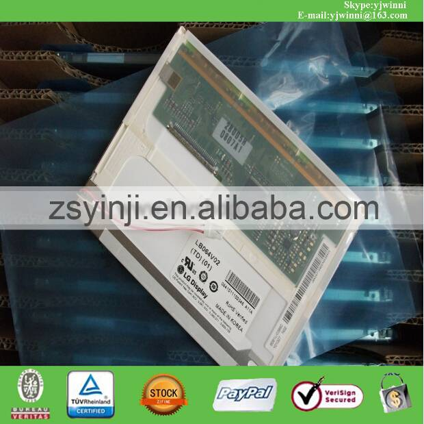 LB064V02-TD01 LB064V02 (TD)(01) 6.4INCH TFT LCD PANEL NEW ORIGINAL
