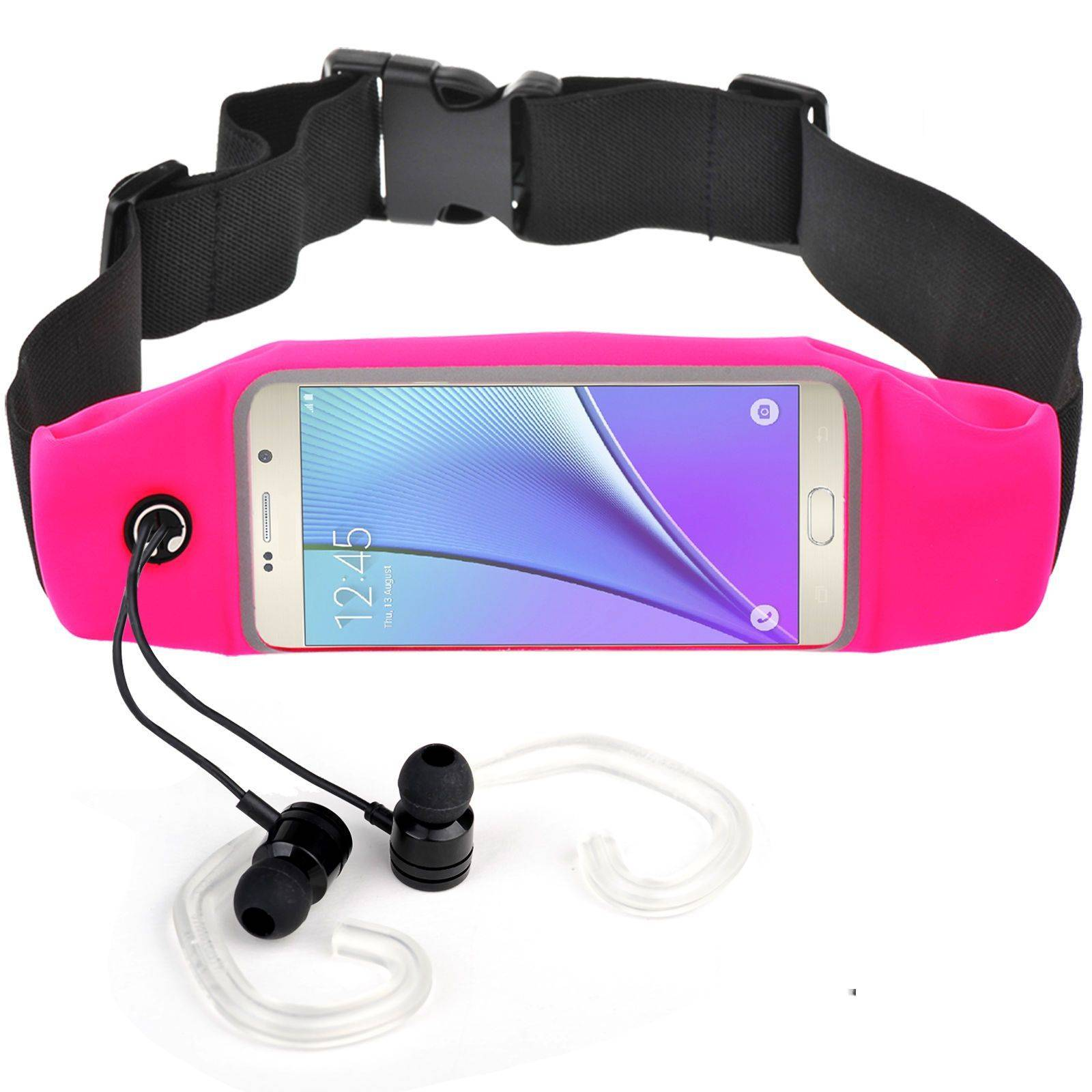 Sport Waist Belt  Bag With Touch screen Runner Pouch for iPhone6 6S Plus Galaxy S5 S6 EDGE SWB01