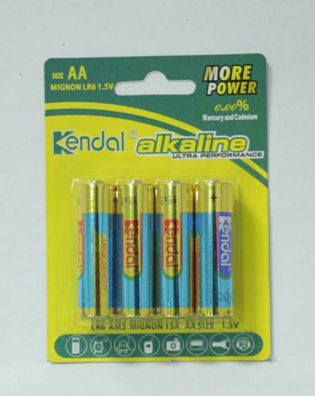 LR6 AA 1.5V Am3 Alkaline battery