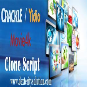 Movie4k Clone Script, Crackle Clone Script, Yidio Clone Script