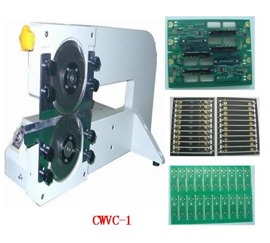 China PCB v cutting machine for assembly line