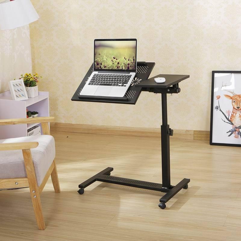 height adjustable recliner laptop desk