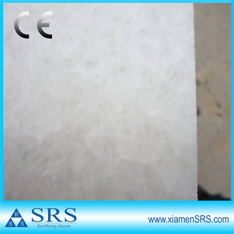 crystal white cheap chinese marble tile