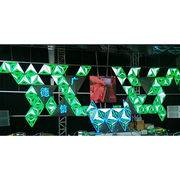 DGX irregular LED display, triangle background wall-P5