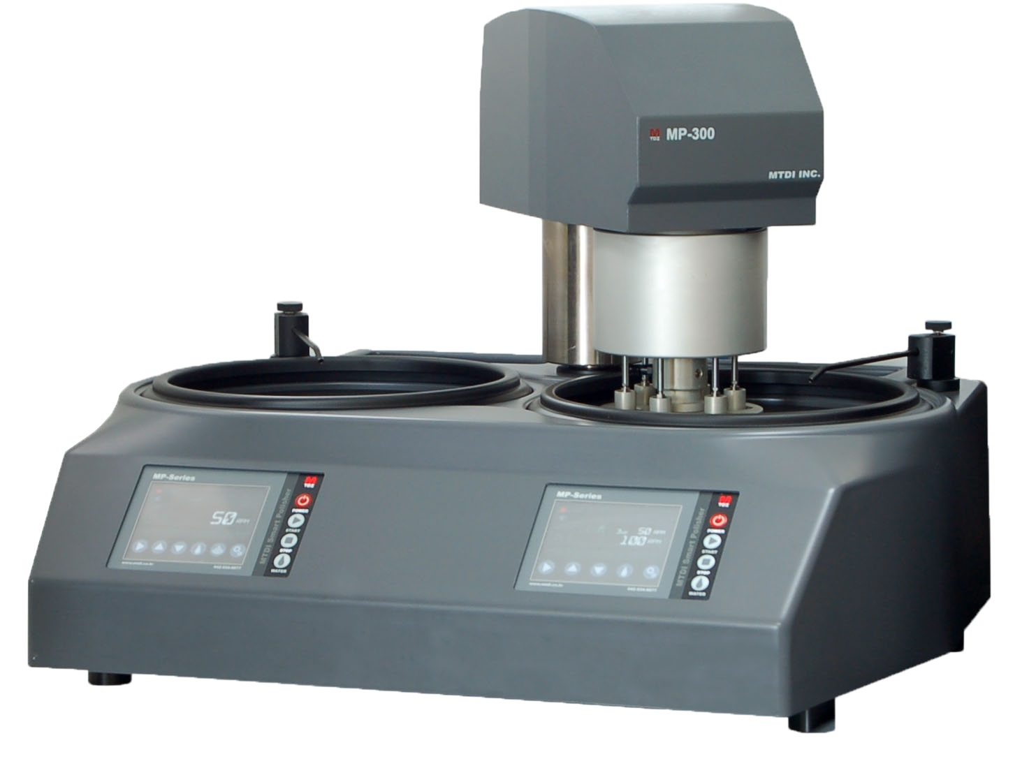 Touch screen controlled Automatic Grinder/Polisher