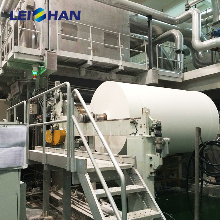 Full automatic a4 paper printing paper whiting paper making machine