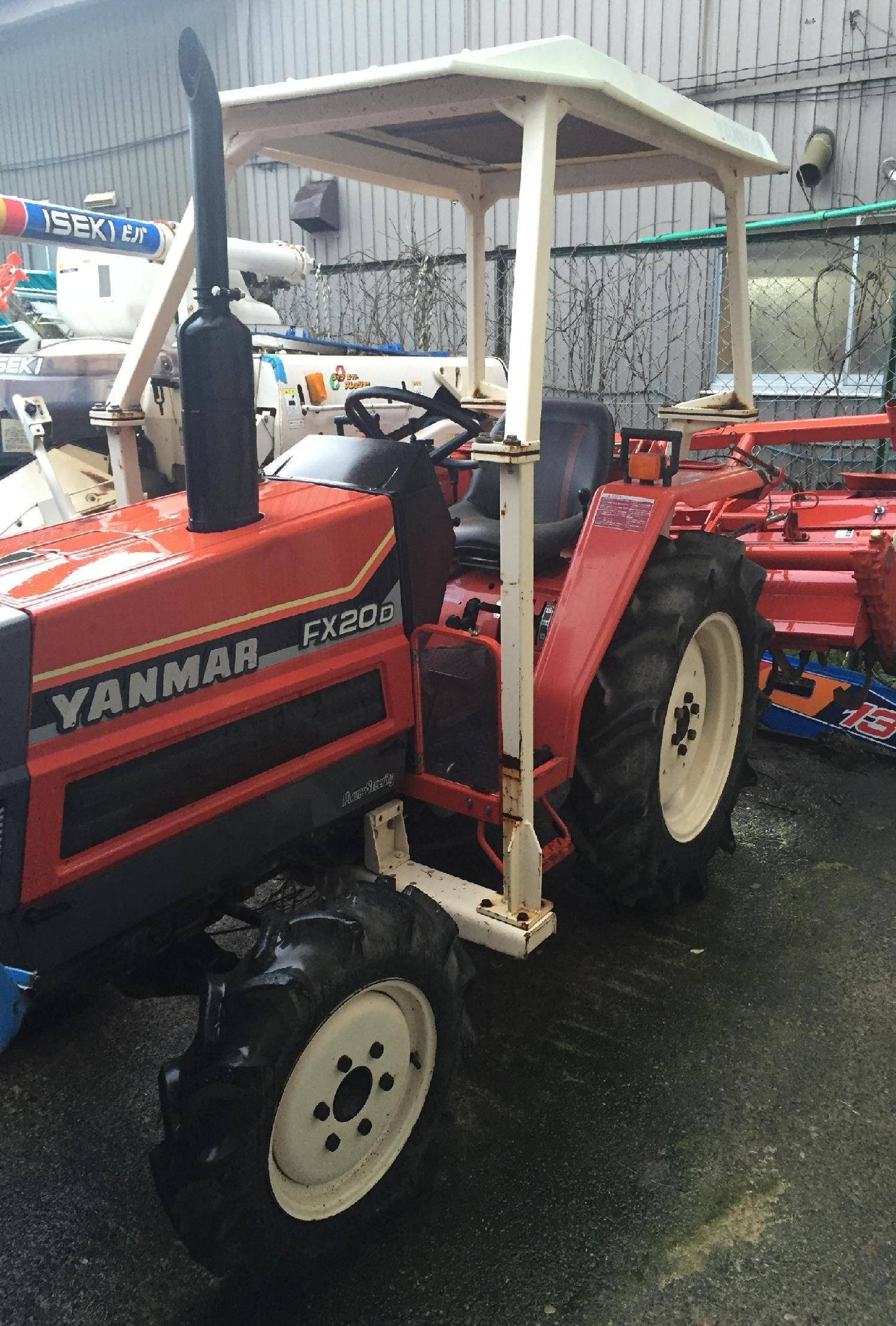 Used tractor Yanmar FX20D