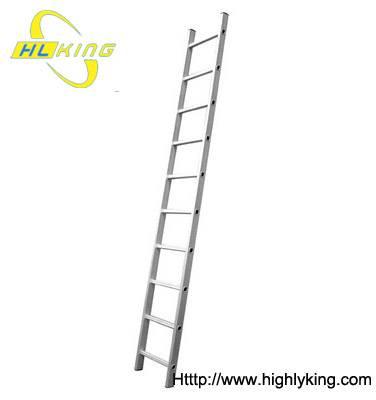 Aluminium single straight ladder (HE-110)