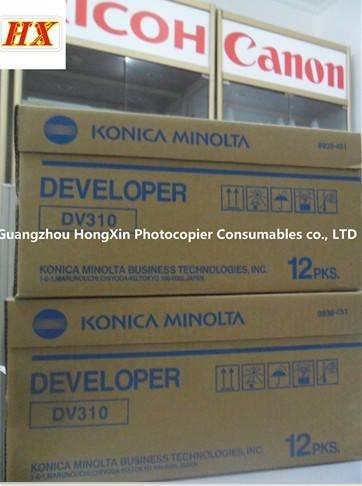 Developer Type DV310/Compatible parts for Konica Minolta Bizhub 200/250/350 copier consumable