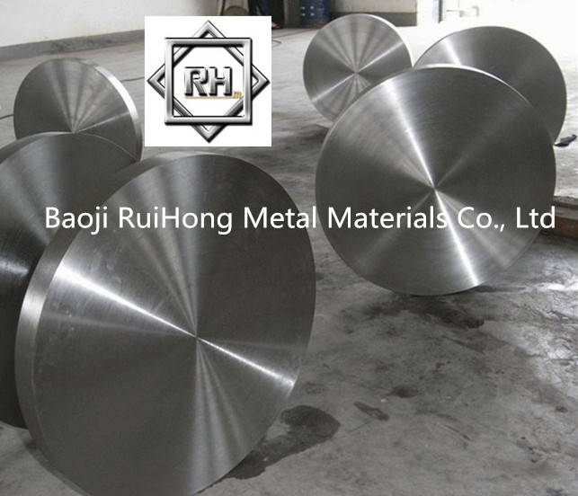 Forged ASTM B381 Titanium disc for industry