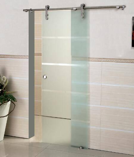 Swing Frosted Building Interior Glass Doors (Kk9011)