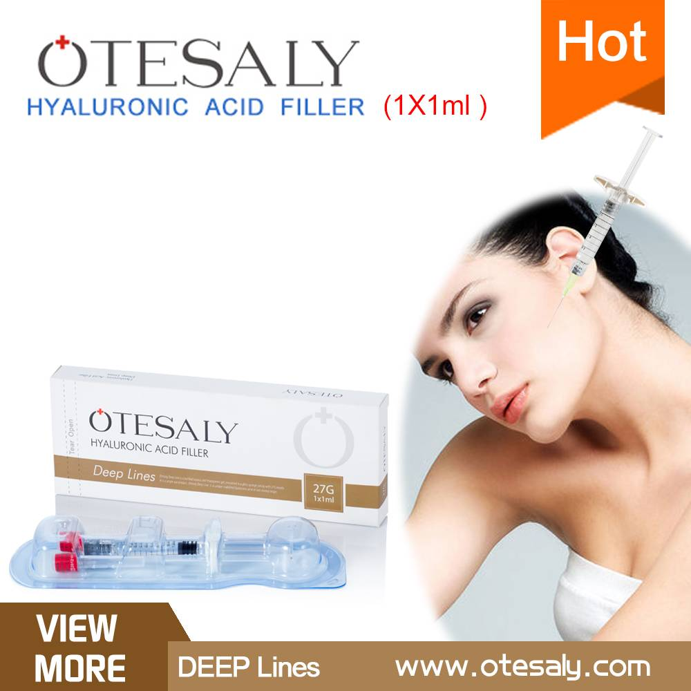 Otesaly deep lines hyaluronic acid Injectable Dermal Filler and Hyaluronic Acid Gel for injectable l