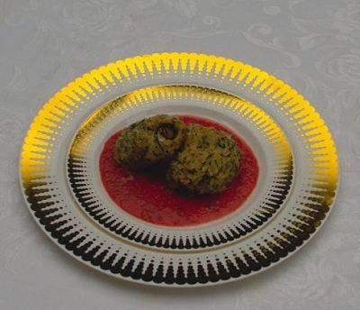 PS Color Decorative Plate