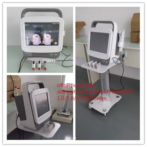 Hifu face lift high intensity focused ultrasound for wrinkle removal machine