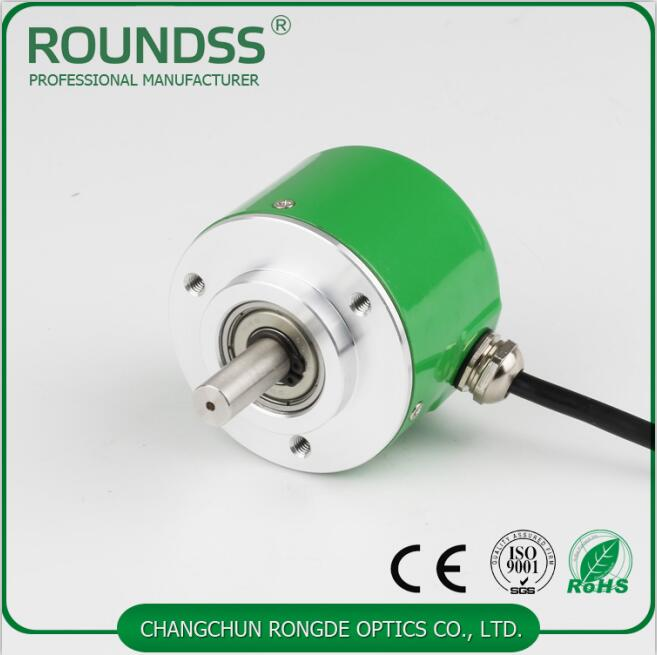 8mm solid shaft rotary optical encoder