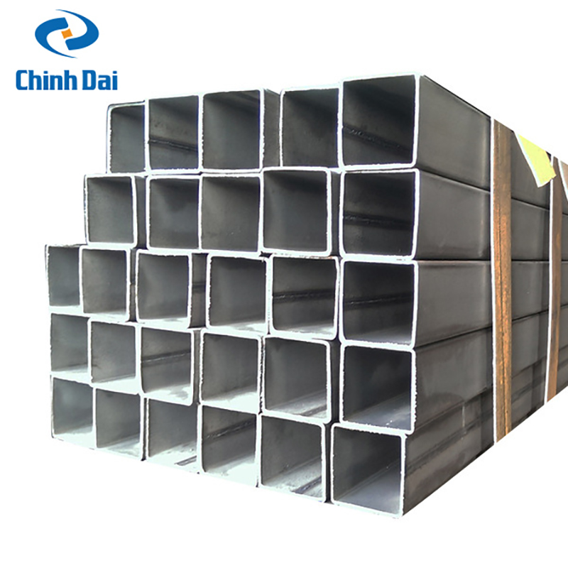 Structural Hollow Sections Galvanized Square Steel Pipe / Tube