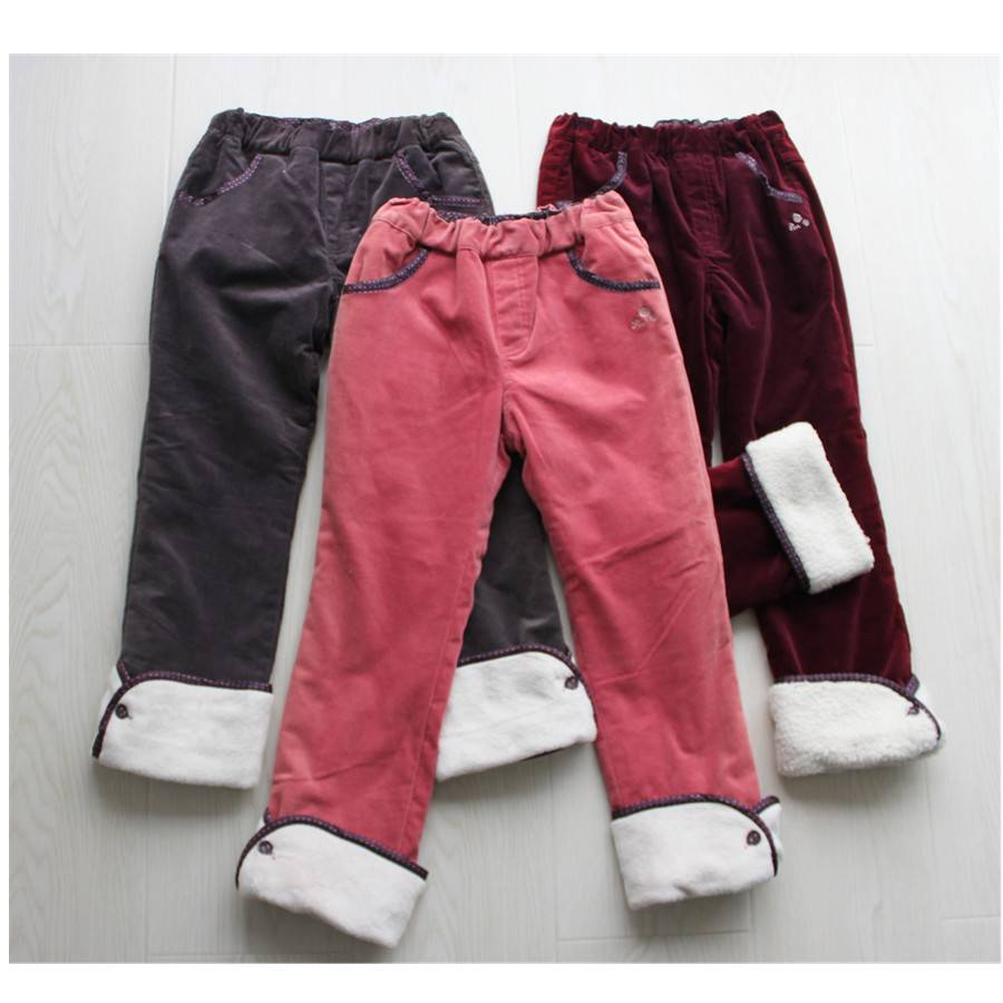 2016 new design pants for girl