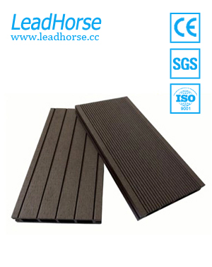 WPC fireproof hollow outdoor decking
