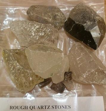 Rough Crystal Quartz Stones