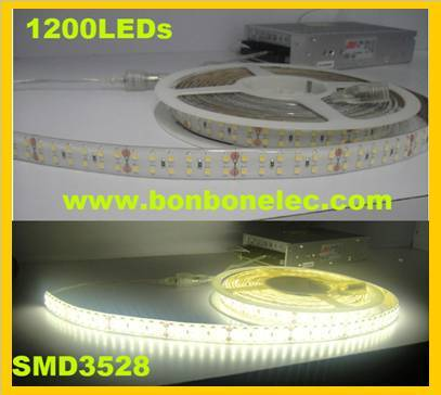 LED 1200pcs SMD3528 each roll flexible strips or tailor-made