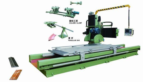 stone profile cutting machine with computer