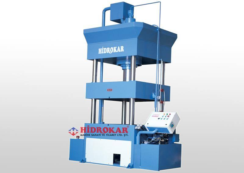 HIDROKAR DEEP DRAWING PRESS COLUMN TYPE