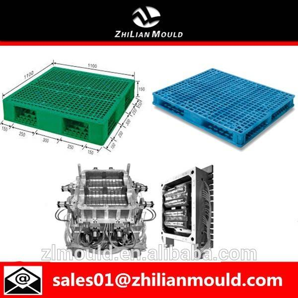 hot sale custom plastic warehouse pallet molds in zhejiang